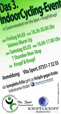 Das 3. IndoorCycling-Event