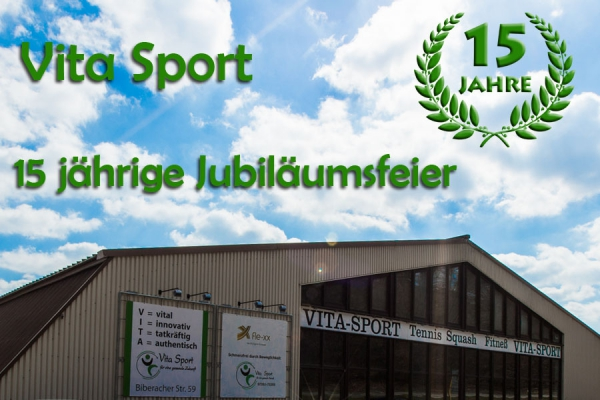 Vita Sport 15 Jahre Jubiläum