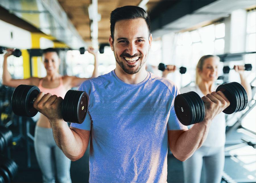Fitnessstudio Vita Sport Muskeltraining